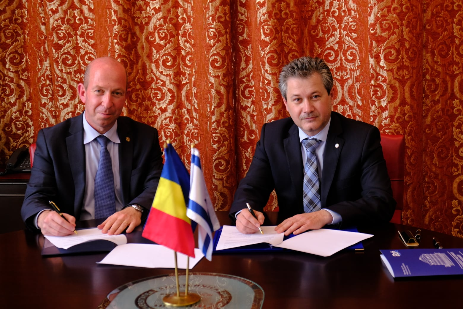 University POLITEHNICA of Bucharest and Technion - Israel Institute of Technology Sign MOU to Support Scientific & Educational Cooperation
