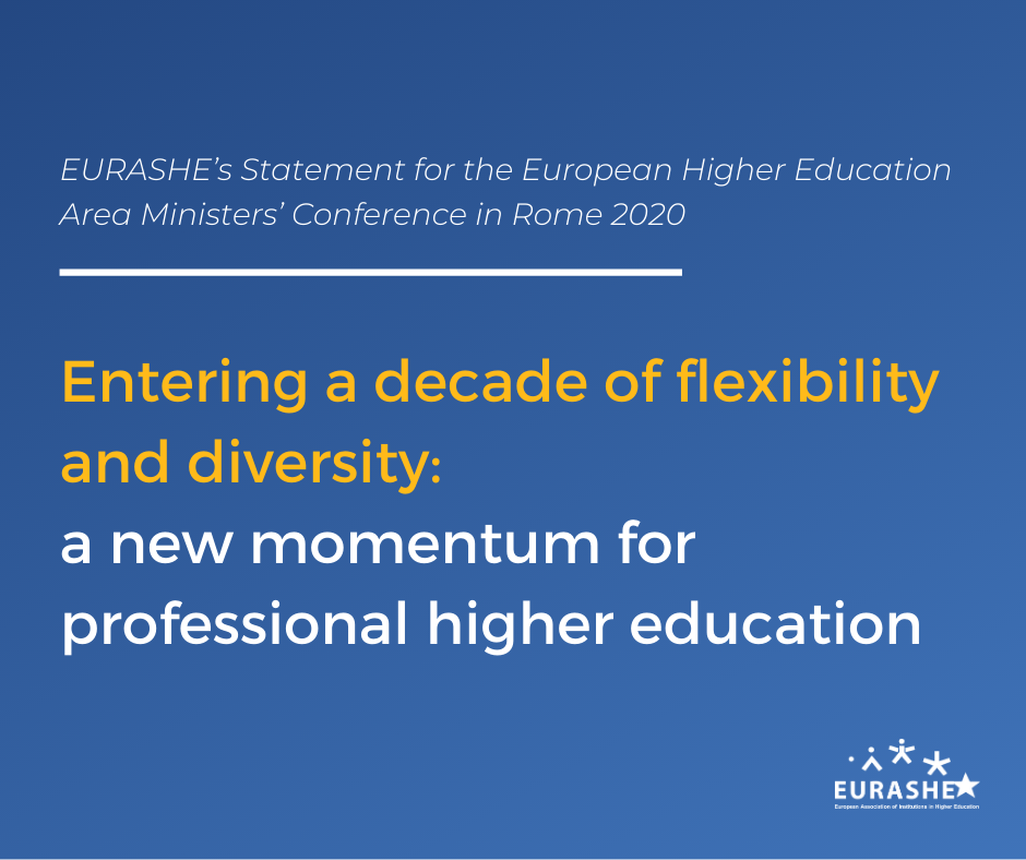 EURASHE Statement - EHEA Ministerial Conference Rome 2020