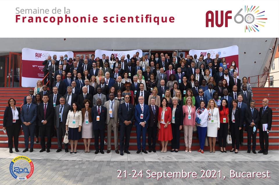 Semaine de la Francophonie Scientifique de l'Agence Universitaire de la Francophonie.