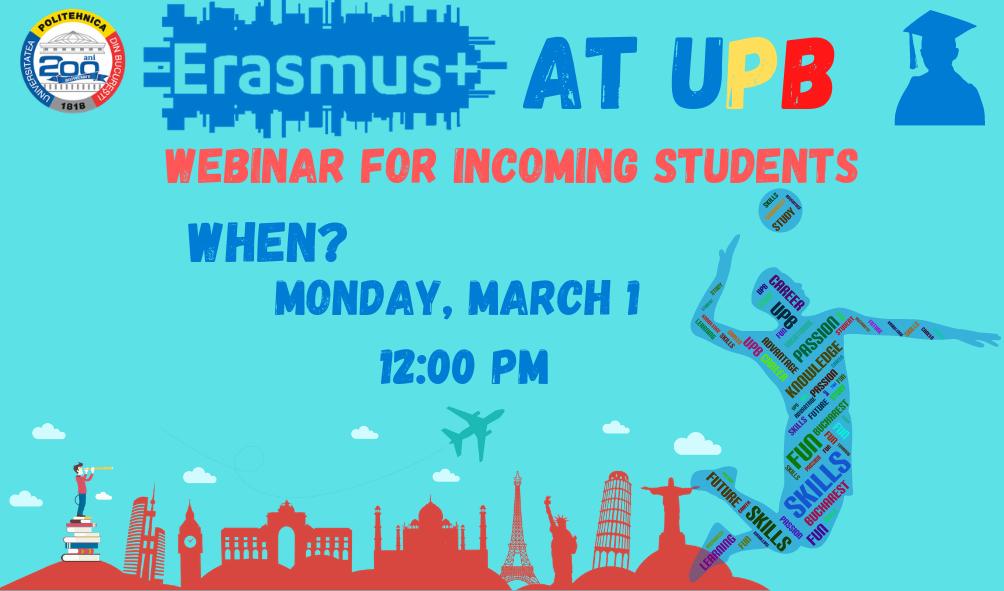 Erasmus+ Open Doors. Incoming Students