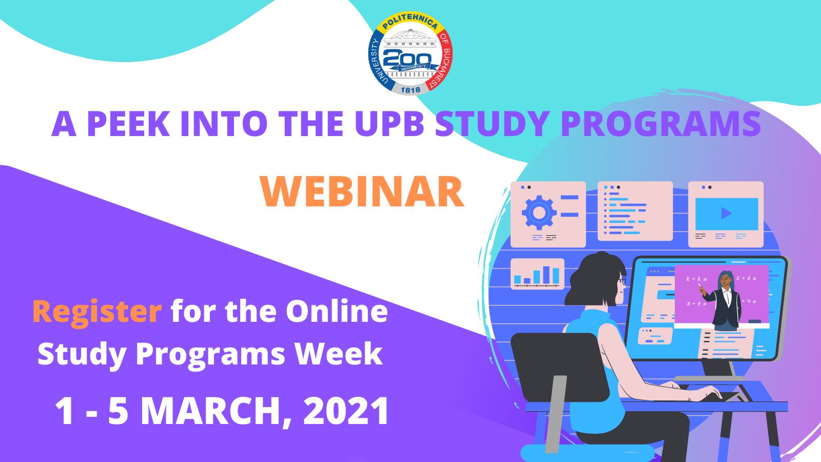 A peek into the UPB study programs