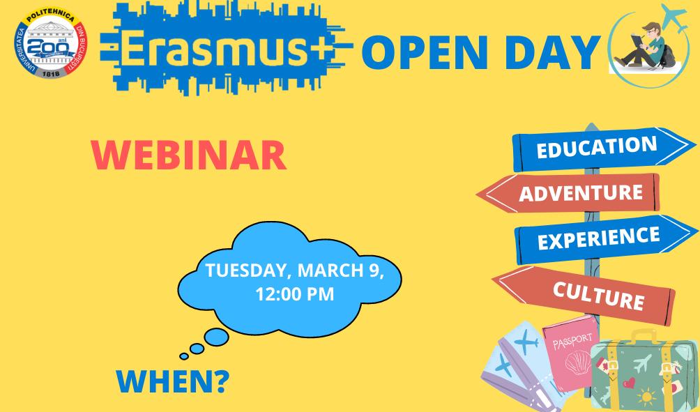 Erasmus+ OPEN DAY