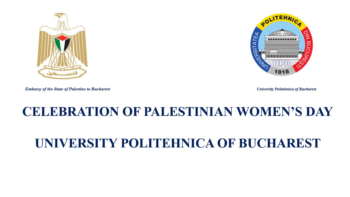 CELEBRATION OF PALESTINIAN WOMEN'S DAY